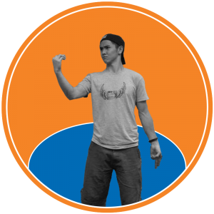 Photo of Harrison Liao, staff writer at The Knicks Wall. The Knicks Wall is the number one source of New York Knicks news, Knicks rumors & original analysis. Graphic by Anthony Corbo