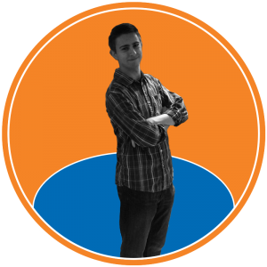 Photo of Reid Goldsmith, managing editor at The Knicks Wall. The Knicks Wall is the number one source of New York Knicks news, Knicks rumors & original analysis. Graphic by Anthony Corbo