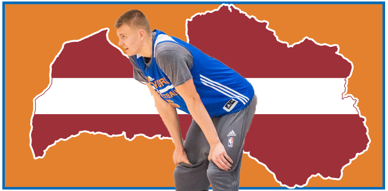 Kristaps Is the Emerging Face of European Hoops