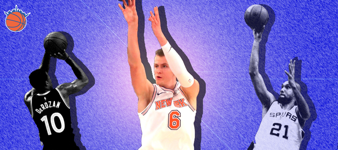 Embracing the Bank: Kristaps Porzingis' Proficiency Off the Glass