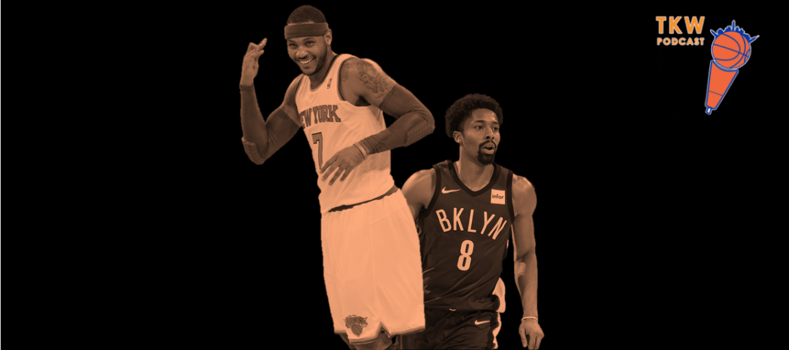 TKW Podcast: Knicks-Nets Beef, Retiring Melo's Jersey & Dick Hammer's Boy