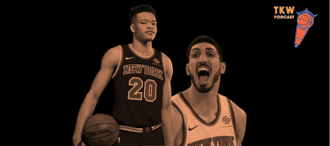 TKW Podcast: NBA Rookie Survey, Porzingis vs. Jokic & Knicks Gaming in the Finals