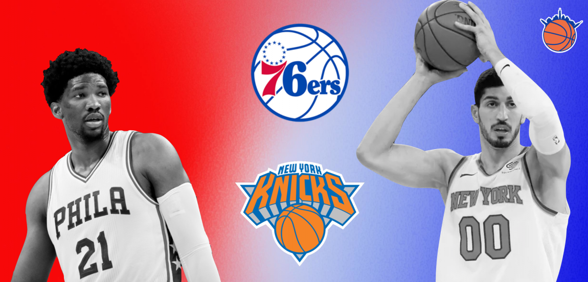 Slaying Simmons and Embiid Are Top Priority for New York's Matchups with Philly