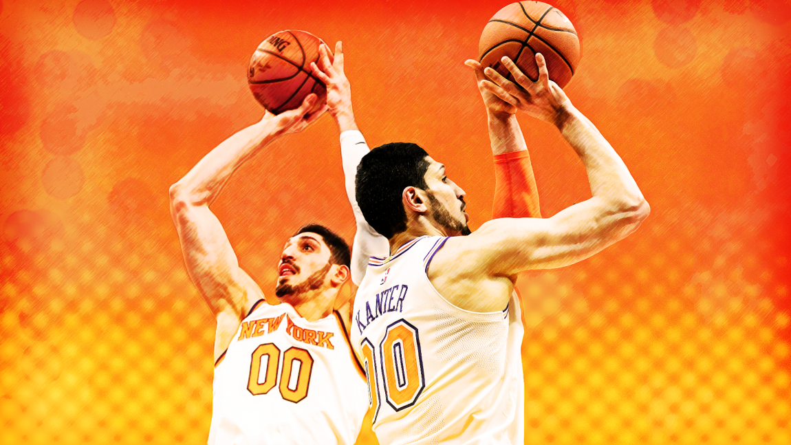 Enes Kanter's Realistic Three-Point Shooting Output