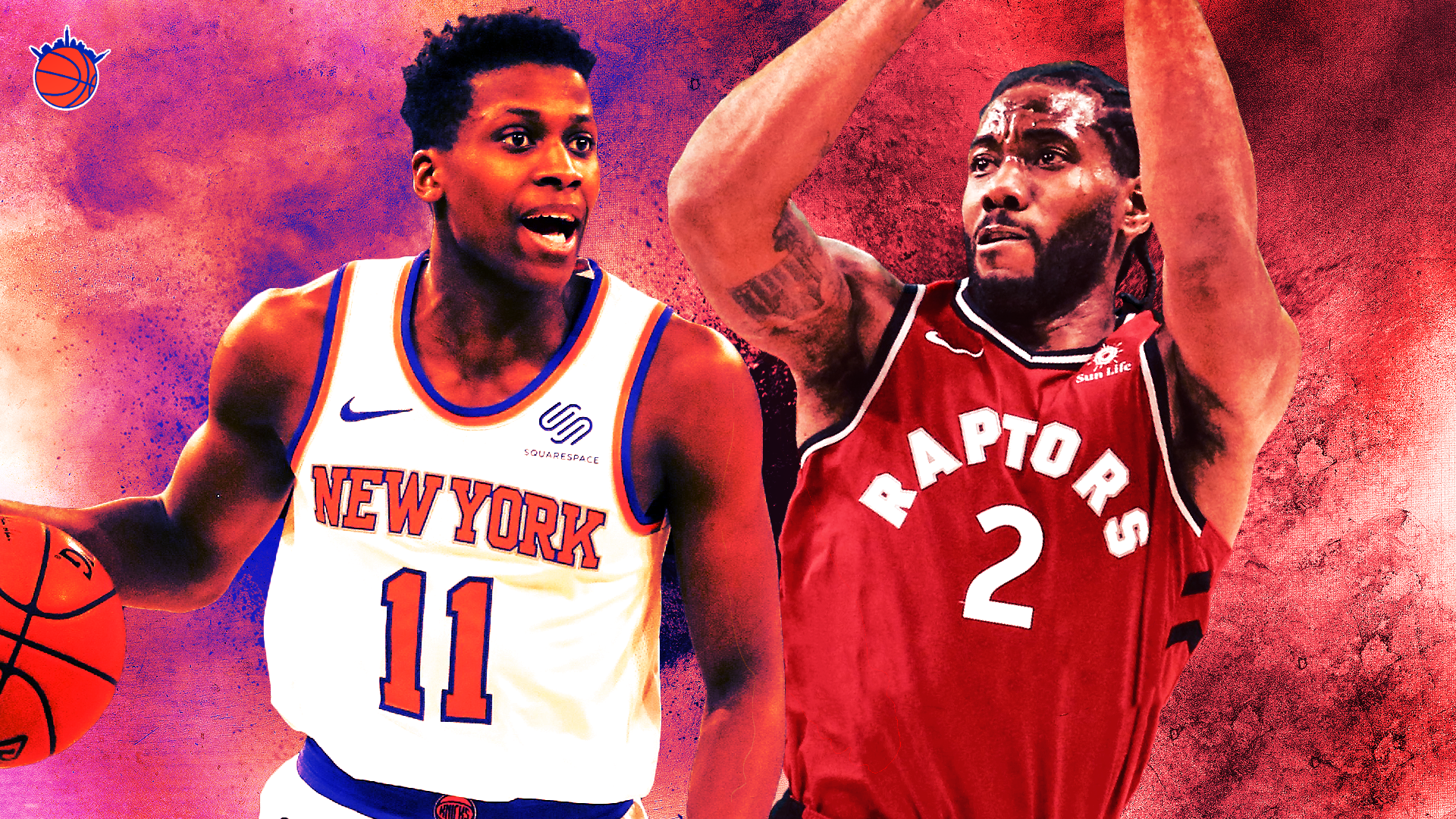 New York Faces Kawhi, Revamped Raptors in Their Divisional Matchups