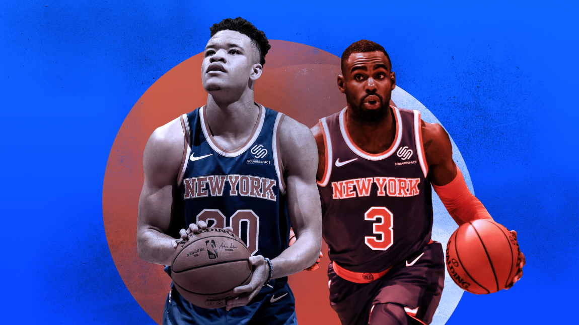 7899abc43 The Knicks  Wings Could Be the Most Entertaining — and Erratic — Group on  the