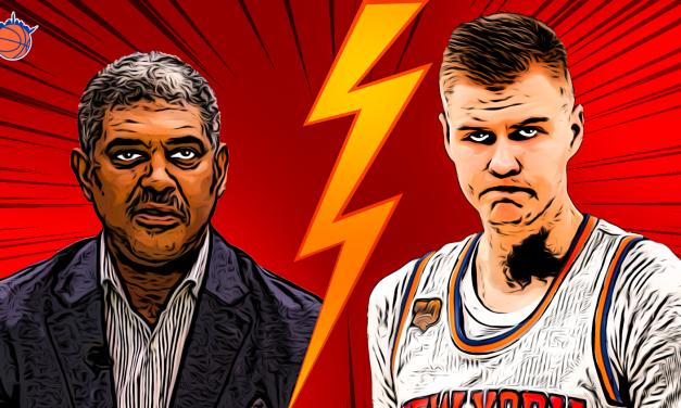 Kristaps Porzingis' Flare Ups With Knicks Management Detail Rocky Relationship