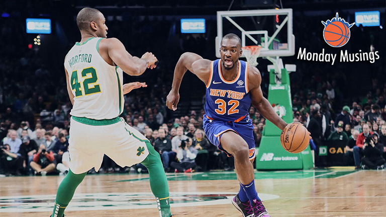 Monday Musings: Noah Vonleh, the Knicks' Most 'Complete' Player