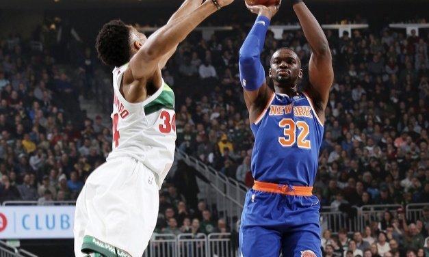 Knicks Fall to Bucks in Final Meeting