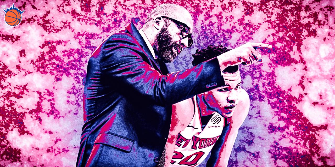David Fizdale's Coaching Psychology on the Knicks Youth