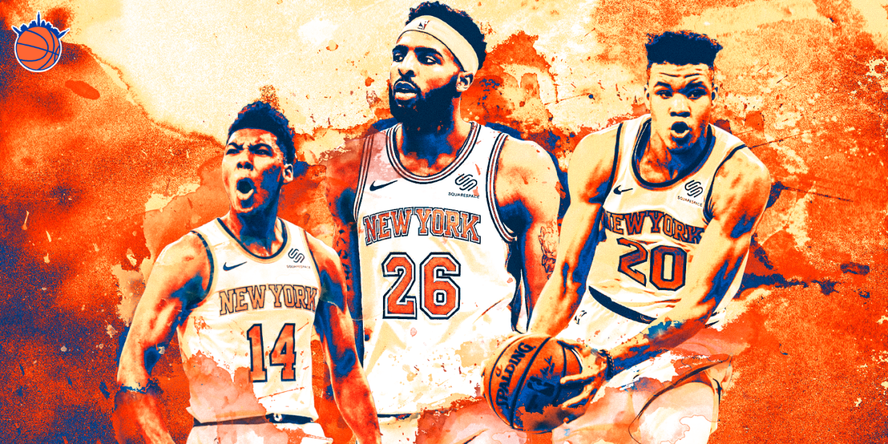 best sneakers b7f68 ce4b2 Report Cards: Knicks Rookies Trier, Robinson & Knox | The ...