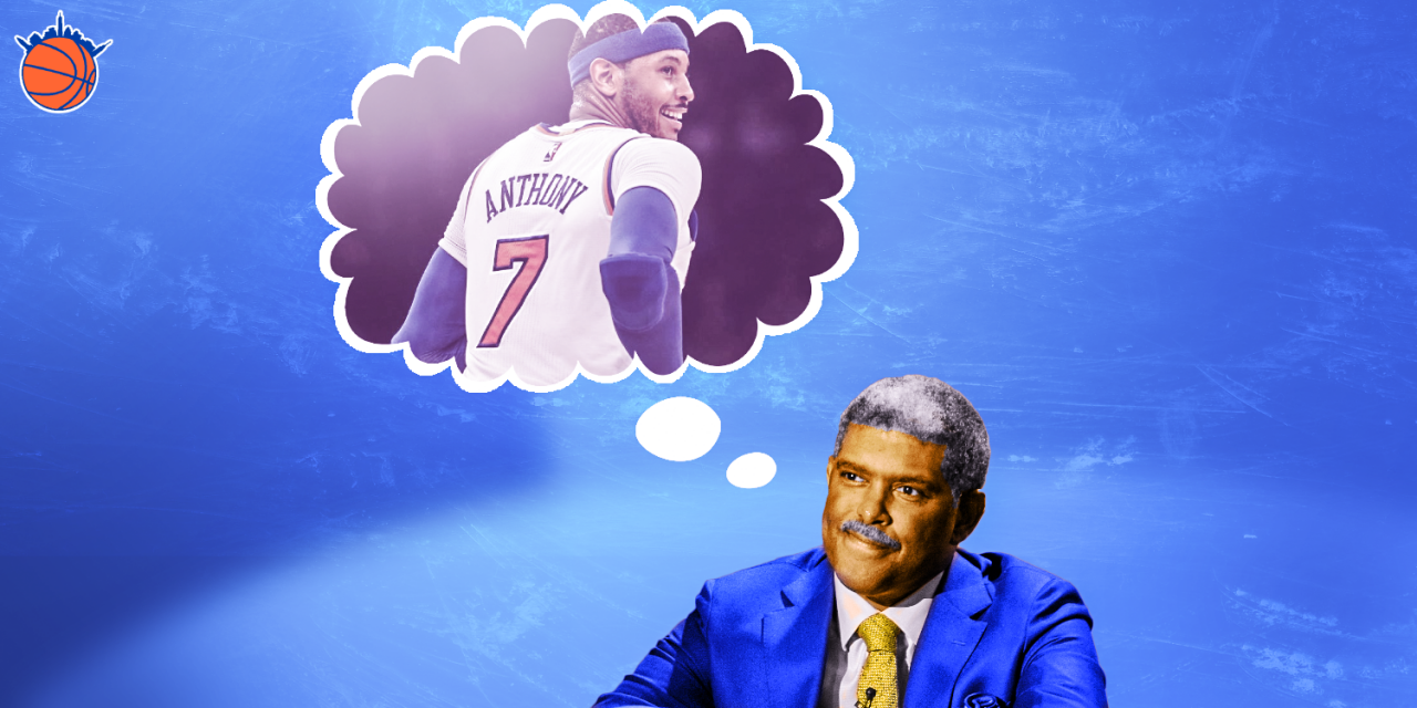 Should the Knicks Bring Carmelo Anthony Back? — A Debate