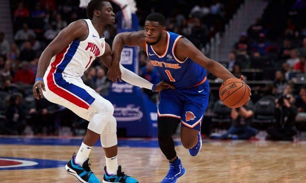 Report: Emmanuel Mudiay Out Two Weeks With Shoulder Strain