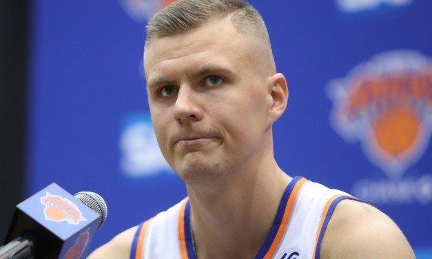 Knicks Trade Kristaps Porzingis to Mavs for Dennis Smith Jr., More