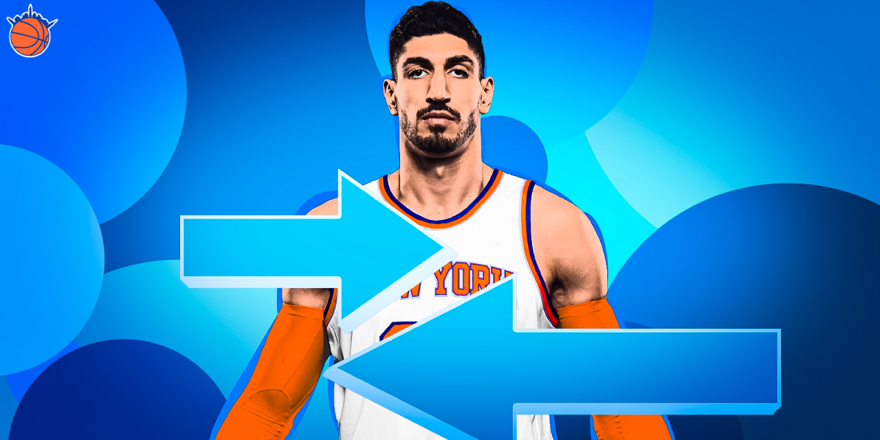 Can the Knicks Trade Enes Kanter Before He Hurts the Team's Development?