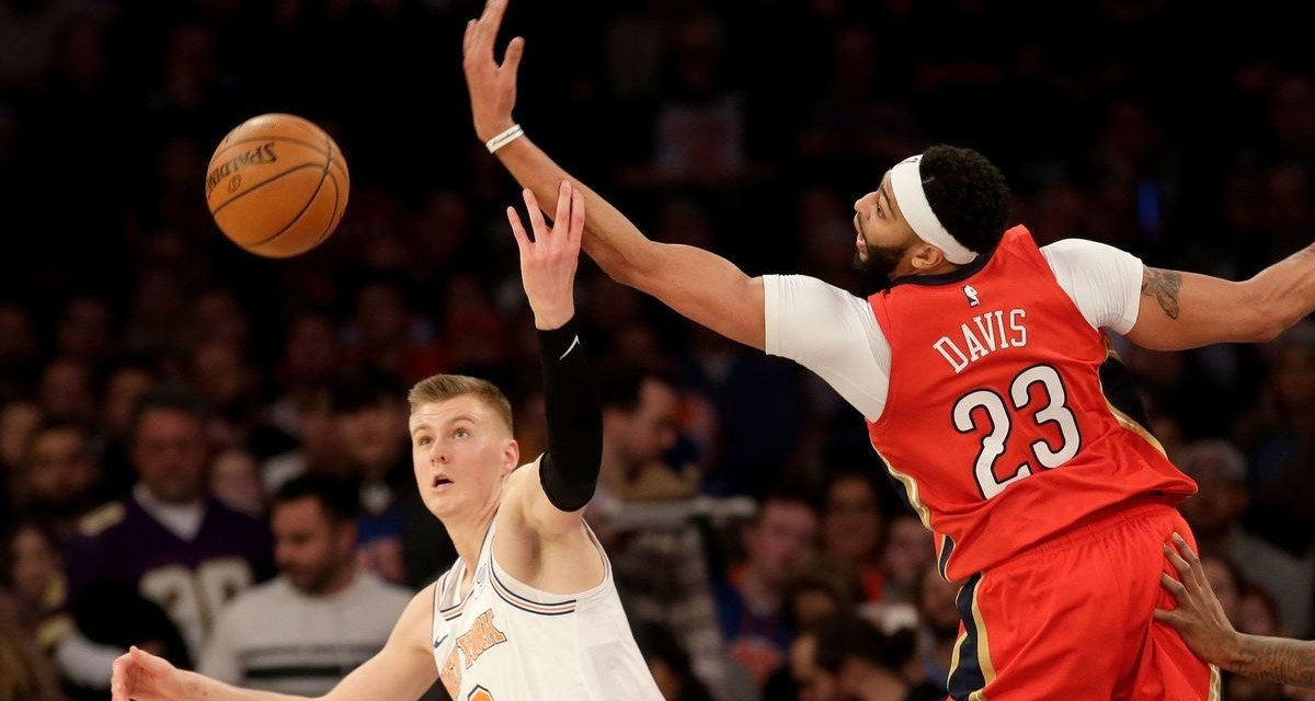 Report: Knicks Expected to Be in on Anthony Davis Sweepstakes