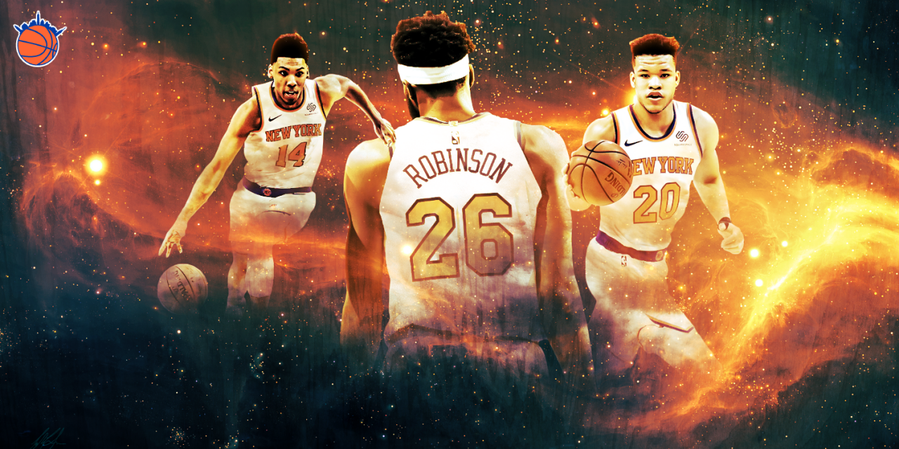 Rookie Report Part II: Updated Performance Evaluations of Kevin Knox, Mitchell Robinson & Allonzo Trier