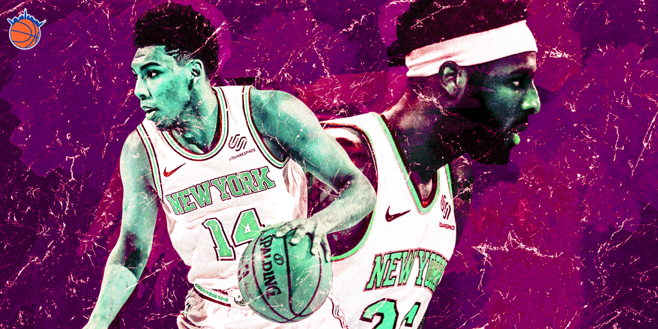 Allonzo Trier and Mitchell Robinson Fostering Prosperous On-Court Connection