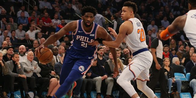 Mitchell Robinson Stars, But Knicks Comeback Stalls Against Sixers