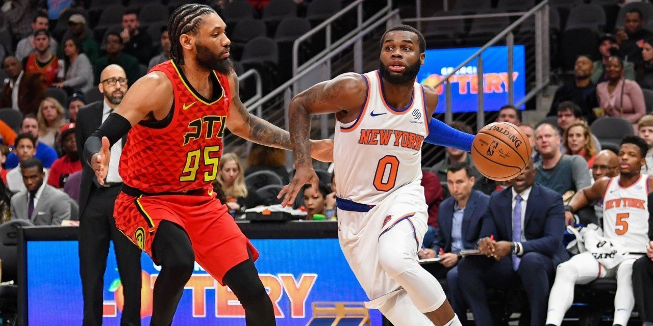 Knicks Defeat Hawks, Give Fans Valentine's Day Gift Heading into All-Star Break