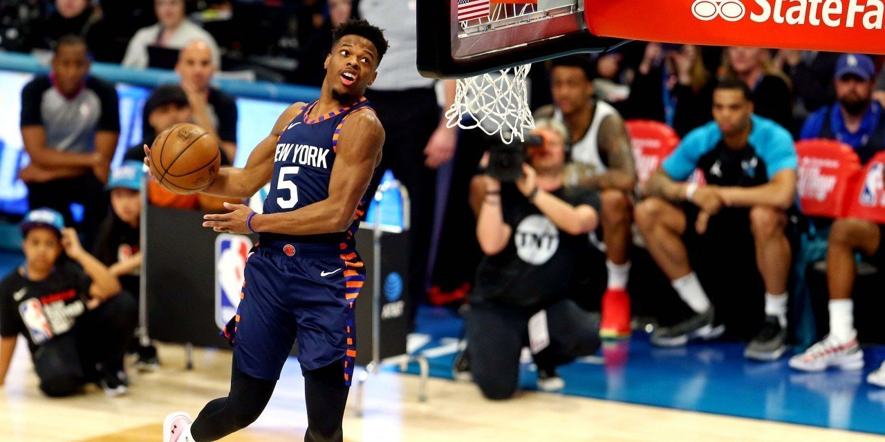 Dennis Smith Jr. Finishes Second to Hamidou Diallo in NBA's Slam Dunk Contest