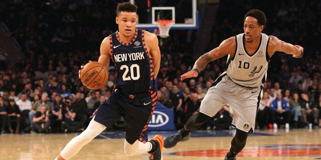Balanced Knicks Attack Against Spurs Snaps Home Losing Streak on Oscars Night