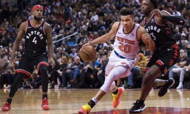 Tanking Knicks Host New Look Raptors at MSG
