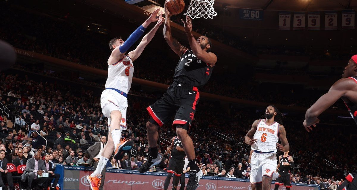 Knicks Lose to Raptors, Tie Franchise Record For Longest Losing Streak