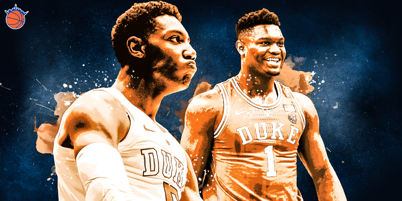 The Knicks Wall 2019 Draft Board — Second Edition
