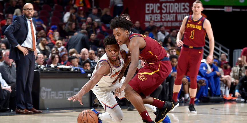 Knicks Looking for Third Win in a Row Against Cavs