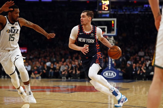 Shorthanded Knicks Trounced by Utah's Three-Point Shooting in Jazz Win