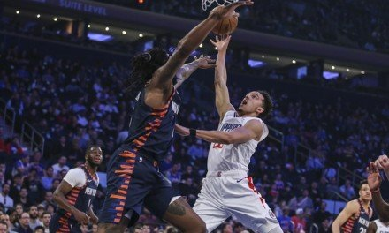 Knicks Lose 60th Game of Season to Clippers