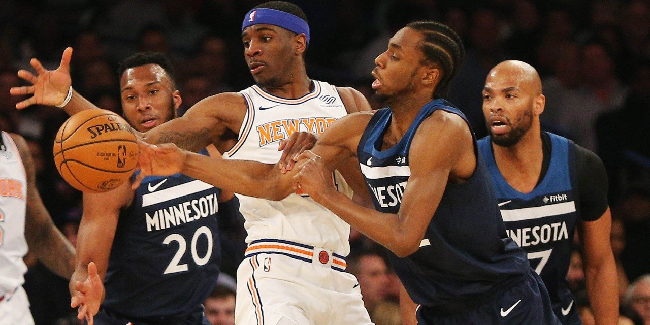 Knicks Back in Action Against Andrew Wiggins, Timberwolves in Minny