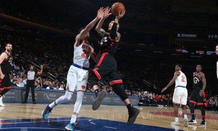 Devastating Shooting From Deep by Raptors Buries Knicks, 117-92