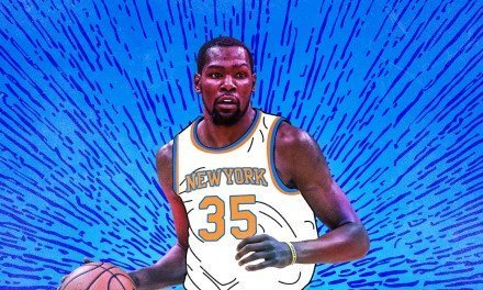 The NBA's Rōnin, Kevin Durant, Is Shaking Off Complacency