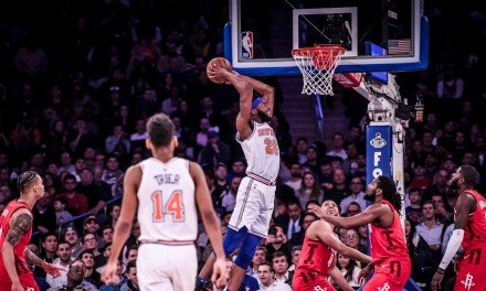 Knicks Look to Snag Late-Season Win Against MVP Hopeful James Harden, Rockets