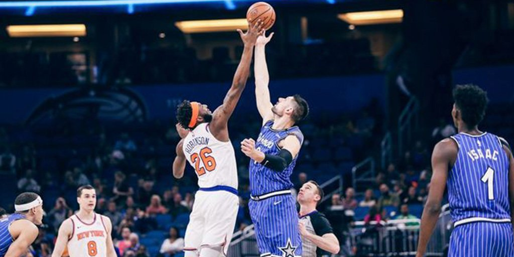 Mario Hezonja's Revenge Game Can't Edge Knicks Pass Magic in Orlando