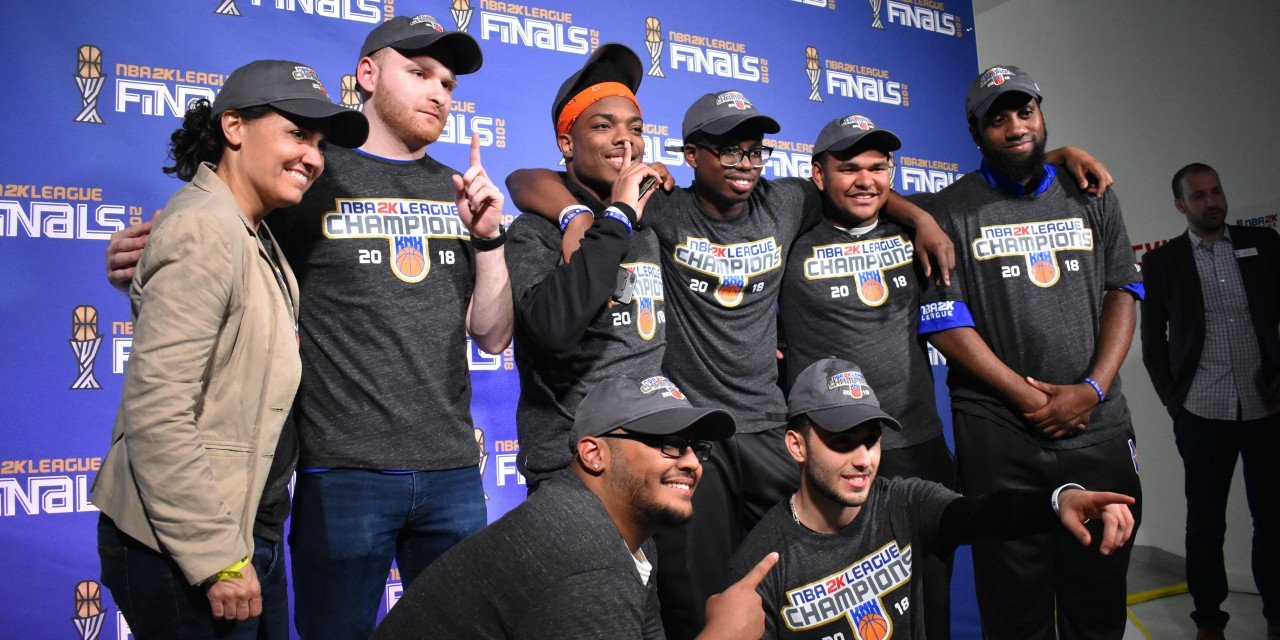Knicks Gaming Set to Defend NBA 2K League Crown