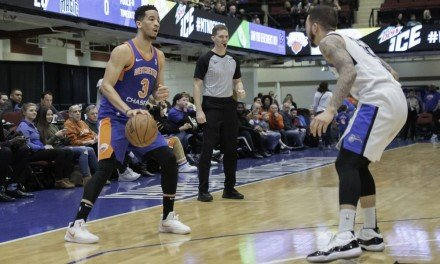 Knicks Sign Westchester's Billy Garrett for Remainder of Season