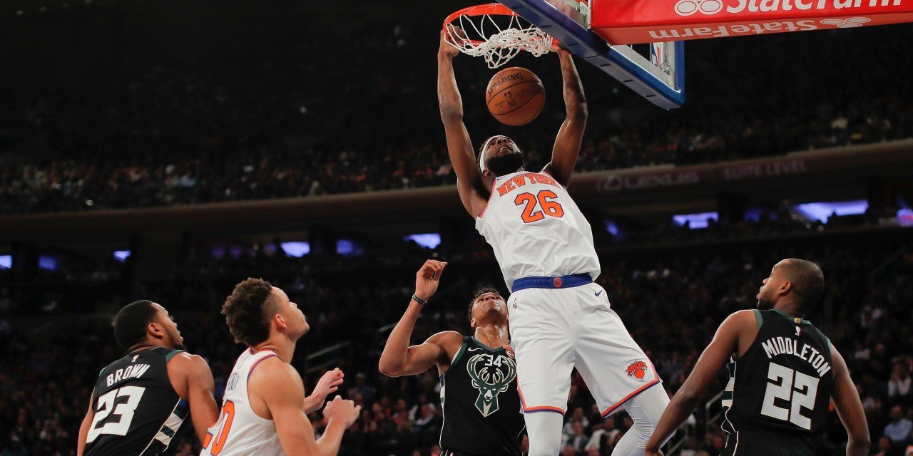 Mitchell Robinson Earns All-Rookie Second Team Honors
