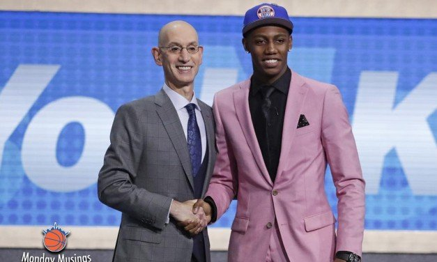 Monday Musings: Knicks Draft Reaction