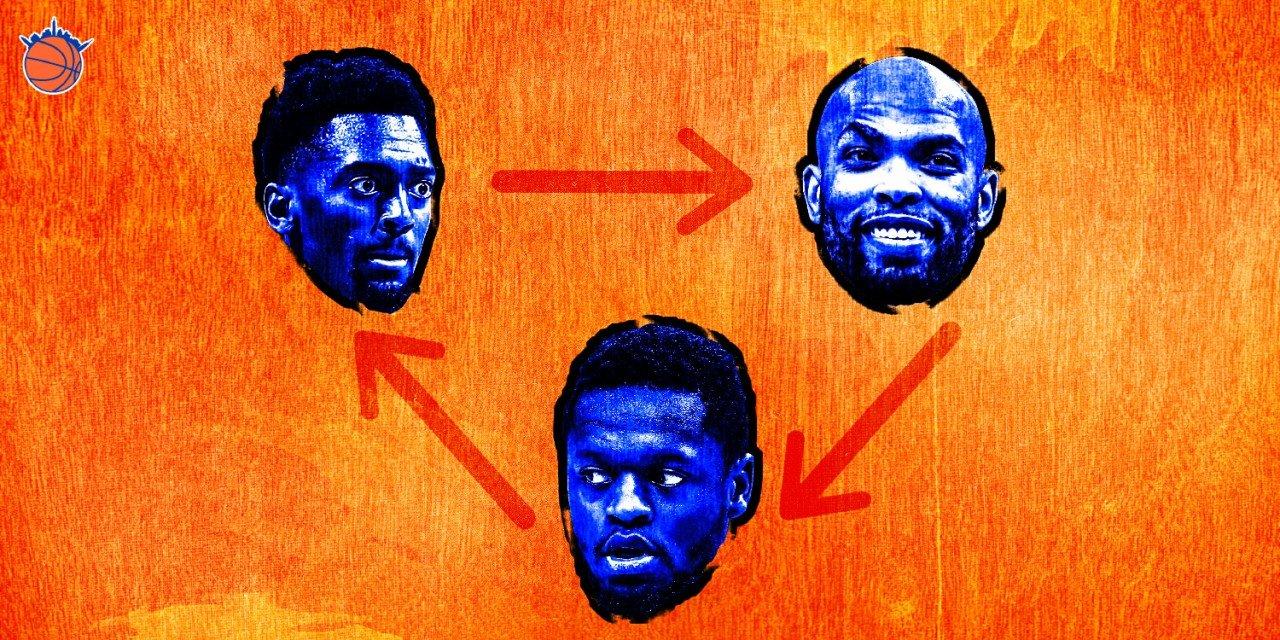 After Free Agency, Making Sense of the Knicks' Big Man Rotation