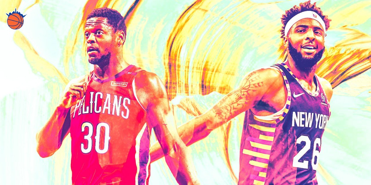Julius Randle, Mitchell Robinson and the Potentially Scary Knicks Frontcourt