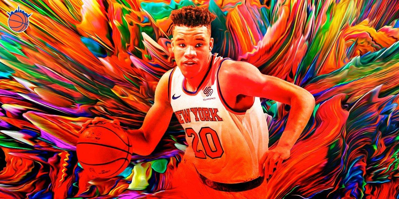 Examining the Knicks' Sticktoitiveness With Development Through the Knox-Ntilikina Lens