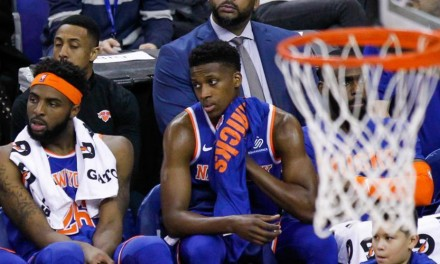 Frank Ntilikina Hears Cheers From the Bench in Boiling Point-Guard Controversy