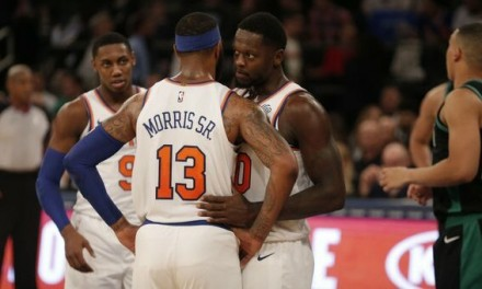 Bottom Falls Out for Knicks in Sloppy Home Opener Loss to Celtics