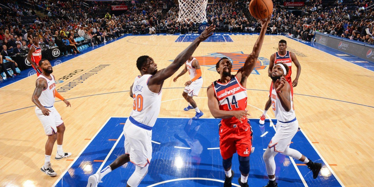Knicks, Wizards Split Home-and-Home Preseason Series