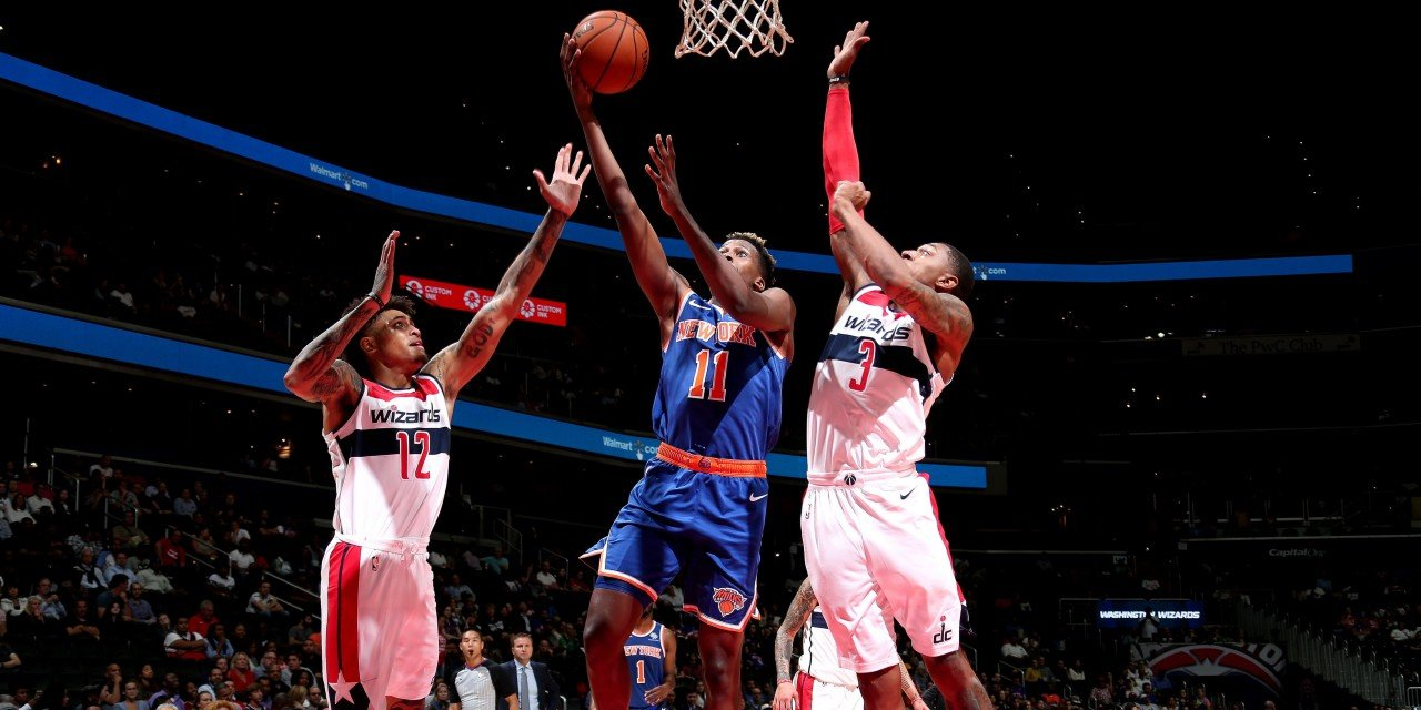 Knicks Open Preseason Against Wizards Without Dennis Smith Jr.
