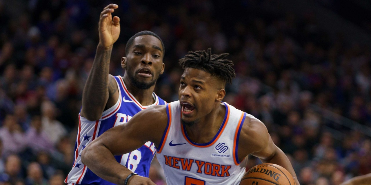 TKW Highlights: Frank Ntilikina, Dennis Smith Jr. Combine for 30 Points in Sixers Loss