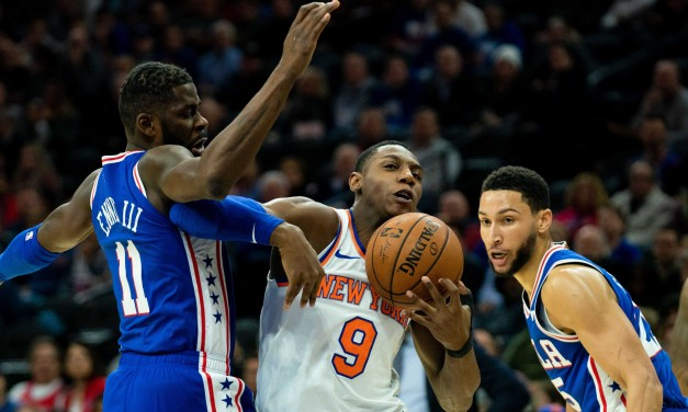 Knicks, Sixers Rematch at the Garden on Black Friday